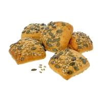 Petits pains d'épeautre aux graines