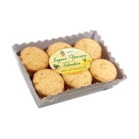 Biscuits au citron et au gingembre